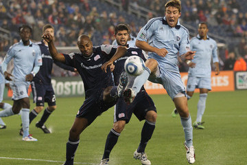 Didier Domi Sporting Kansas City v New England Revolution