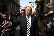Sports Direct International founder Mike Ashley leaves the Red Lion pub in Westminster to attend a select committee hearing at Portcullis house on June 7, 2016 in London, England. Mike Ashley is to face the Business, Innovations and Skills Parliamentary Select Committee on working practices at his Sports Direct Shirebrook Warehouse in Derbyshire. In a letter to his staff he admitted that the centre needed 'improvements' after investigations found that staff had been paid less than the minimum wage and ambulances had been called to the complex 76 times in two years as staff were 'too scared' to call in sick.