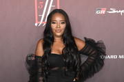 Angela Simmons attends the Sports Illustrated Fashionable 50 at The Sunset Room on July 18, 2019 in Los Angeles, California.