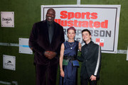 Shaquille O'Neal, Professional Soccer Player Megan Rapinoe and Noah Schnapp attend the Sports Illustrated Sportsperson Of The Year 2019 at The Ziegfeld Ballroom on December 09, 2019 in New York City.