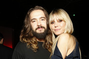 "(L-R) Tom Kaulitz and Heidi Klum attend Spotify Hosts ""Best New Artist"" Party at The Lot Studios on January 23, 2020 in Los Angeles, California."