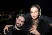 """(L-R) Ryan Tunick and Kate Beckinsale attend Spotify Hosts """"Best New Artist"""" Party at The Lot Studios on January 23, 2020 in Los Angeles, California."""