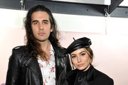 "Nick Simmons (L) and Sophie Simmons attend Spotify's ""Louder Together"" event celebrating the first ever collaborative Spotify single with Sasha Sloan, Nina Nesbitt and Charlotte Lawrence at Resident DTLA on March 24, 2018 in Los Angeles, California."