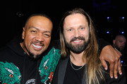 Timbaland (L) and Max Martin attend Spotify's Secret Genius Awards Hosted By NE-YO at The Theatre at Ace Hotel on November 16, 2018 in Los Angeles, California.