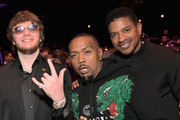 Murda Beatz and Timbaland attend Spotify's Secret Genius Awards hosted by NE-YO at The Theatre at Ace Hotel on November 16, 2018 in Los Angeles, California.