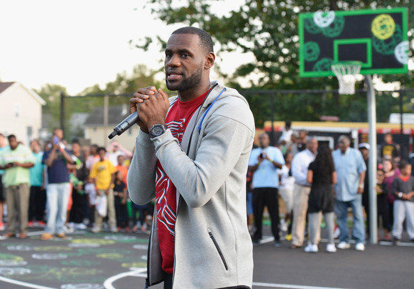 Refurbished Basketball Court Unveiled in Akron