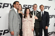 (L-R) Bobby Cannavale, Rose Byrne, Melissa McCarthy, Paul Feig and Jude Law attend the 'Spy' New York Premiere at AMC Loews Lincoln Square on June 1, 2015 in New York City.