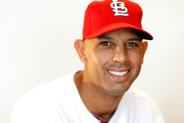 Alex Cora St Louis Cardinals Photo Day