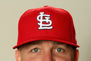 Bill Mueller poses for a portrait during St Louis Cardinals Photo Day at Roger Dean Stadium on February 20, 2017 in Jupiter, Florida.
