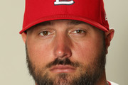 Jonathan Broxton #30 poses for a portrait during St Louis Cardinals Photo Day at Roger Dean Stadium on February 20, 2017 in Jupiter, Florida.