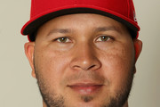 Jhonny Peralta #27 poses for a portrait during St Louis Cardinals Photo Day at Roger Dean Stadium on February 20, 2017 in Jupiter, Florida.