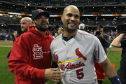Albert Pujols Jaime Garcia Photos Photo