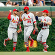 Harrison Bader and Tommy Pham Photos