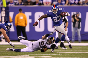 Ben Leber St. Louis Rams v New York Giants