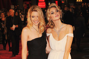 Actresses Talulah Riley and Tamsin Egerton (R) attend the World premiere of 'St Trinian's 2: The Legend of Fritton's Gold' at the Empire Leicester Square on December 9, 2009 in London, England.