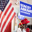 Stacey Abrams Oprah Winfrey Campaigns With Democratic Gubernatorial Candidate Stacey Abrams