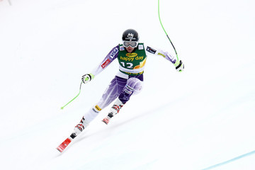 Stacey Cook Audi FIS Alpine Ski World Cup: Women's Downhill Training