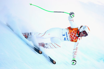 Stacey Cook Alpine Skiing Previews - Winter Olympics Day 1