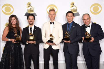 Stacey Mindich 60th Annual GRAMMY Awards - Press Room