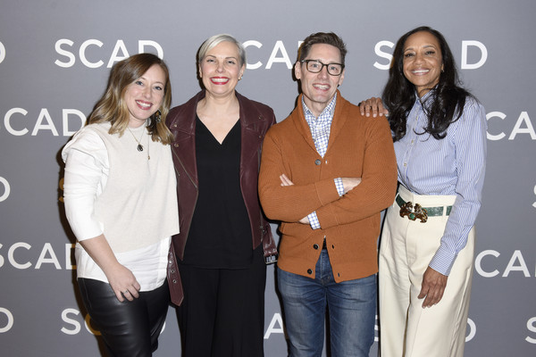 SCAD aTVfest 2020 - Day 2 Panels & Screenings [costume design press junket,fashion,event,fashion design,outerwear,premiere,style,panels,michelle cole,daniel lawson,jennifer rogien,staci greenbaum,l-r,line,scad atvfest,screenings,fashion,public relations,the carter,socialite,celebrity,outerwear,flooring,beauty.m,public,television]