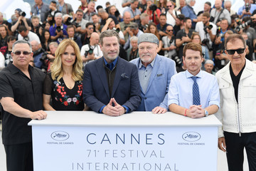Stacy Keach 'Rendezvous With John Travolta - Gotti' Photocall - The 71st Annual Cannes Film Festival