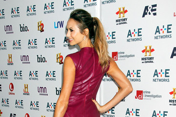 Stacy Keibler Arrivals at the A&E Networks Upfront