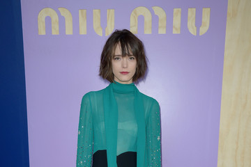 Stacy Martin Miu Miu: Photocall - Paris Fashion Week Womenswear Spring/Summer 2017