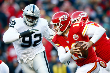 Stacy McGee Oakland Raiders v Kansas City Chiefs