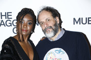 """Kiki Layne and Luca Guadagnino attend the launch of Luca Guadagnino's """"The Staggering Girl"""", streaming worldwide on MUBI from February 15, 2020 at Relais Christine and Christine Cinema Club on January 21, 2020 in Paris, France."""