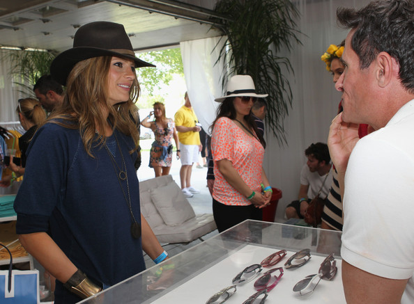 Celebs at the Lacoste Desert Pool Party