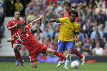 Stanislav Dragun Olympics Day 2 - Men's Football - Brazil v Belarus