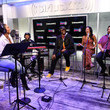 Stanley T Ciara Performs On SiriusXM Hits 1 At The SiriusXM Studios In New York