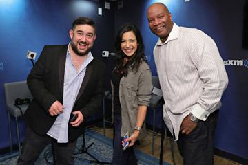 Stanley T Selena Gomez Visits 'The Morning Mash Up' On SiriusXM Hits 1 Channel