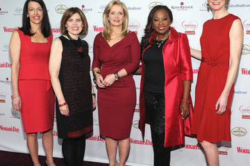 Star Jones Nancy Brown Arrivals at the Woman's Day Red Dress Awards