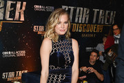 """Rebecca Romijn attends the """"Star Trek: Discovery"""" Season 2 after party at the Conrad New York on January 17, 2019 in New York City."""