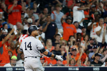 Starlin Castro League Championship Series - New York Yankees v Houston Astros - Game Two