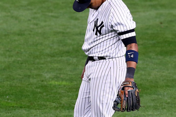 Starlin Castro League Championship Series - Houston Astros v New York Yankees - Game Four