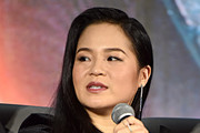 "Kelly Marie Tran participates in the global press conference for ""Star Wars:  The Rise of Skywalker"" at the Pasadena Convention Center on December 04, 2019 in Pasadena, California."