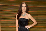 Minnie Driver in Sparkling Black - Oscar After-Party Fashion 2014
