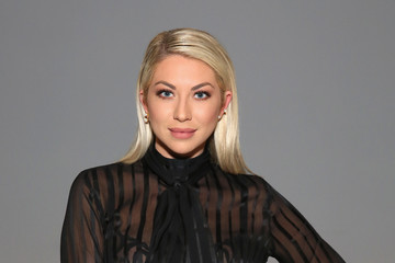 Stassi Schroeder Marcel Ostertag - Front Row - February 2017 - New York Fashion Week: The Shows