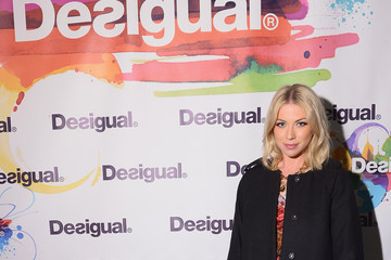 Stassi Schroeder Backstage at the Desigual Show