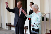 Queen Elizabeth II and Prince Philip, Duke of Edinburgh are seen during a State visit by the King and Queen of Spain on July 14, 2017 in London, England.  This is the first state visit by the current King Felipe and Queen Letizia, the last being in 1986 with King Juan Carlos and Queen Sofia.