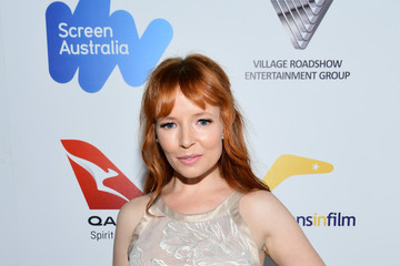 Stef Dawson 6th Annual Australians in Film Award & Benefit Dinner - Red Carpet