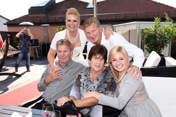 Stefan Effenberg Guests at Claudia Effenberg's Dirndl Launch Party in Munich