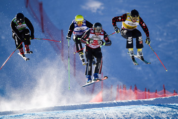 Stefan Thanei FIS Freestyle Ski World Cup - Men's and Women's Ski Cross