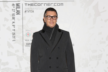 Stefano Gabbana Arrivals at the Vogue Talents Corner