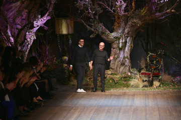 Stefano Gabbana Dolce & Gabbana - Runway - Milan Fashion Week Womenswear Autumn/Winter 2014