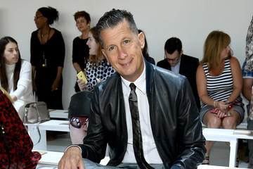 Stefano Tonchi Michael Kors  Spring 2015 Fashion Show - Front Row