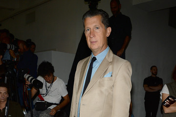 Stefano Tonchi Rodarte - Front Row - Mercedes-Benz Fashion Week Spring 2015