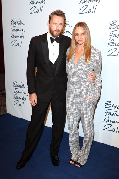 Stella McCartney with cool, Husband Alasdhair Willis